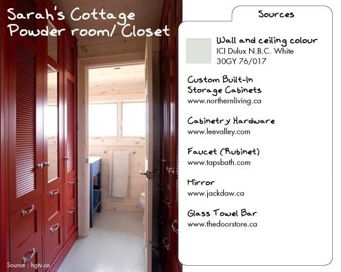 Sarah's Cottage powder room