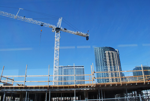 South Waterfront construction