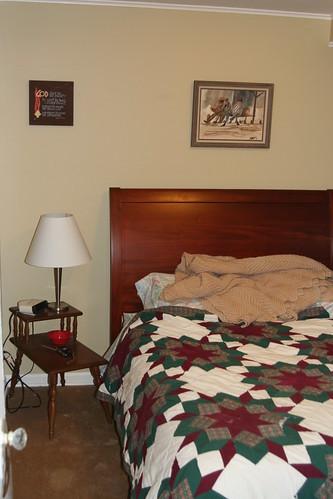 Bedroom from door