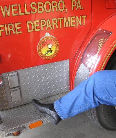 Kathy fire truck