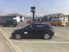 Google Streetview Car spotted in Aberystwyth 03/06/09