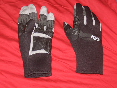 What I got out of the day. These are the Three Seasons variation of the Gill range of gloves.