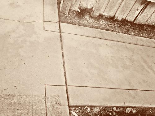 That ol' sidewalk