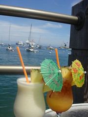 Cocktails on Catalina - click for the full set