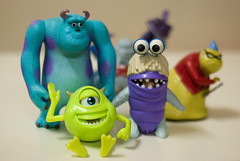 Monsters, Inc. main characters