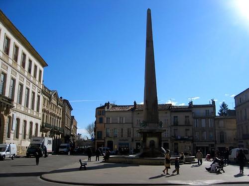 Obelisk in Arles.