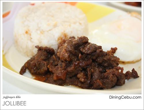 Jollibee Breakfast Meals - Beef Tapa