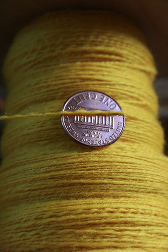 Spinning sock yarn seems like it will NEVER end.