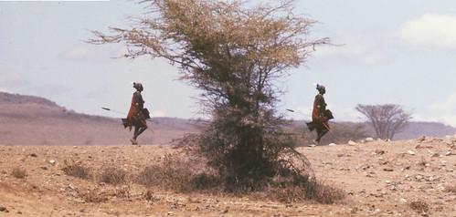 Rendilli Tribesman 1979 North East Kenya near Lake Turkana