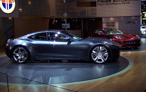 Fisker Karma - hybrid sports car