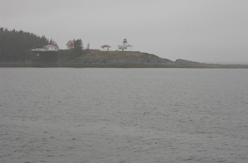 Cool secluded lighthouse