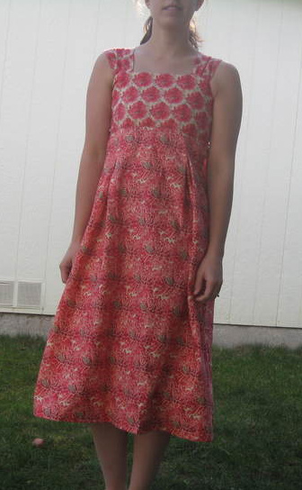 Self-drafted Dress