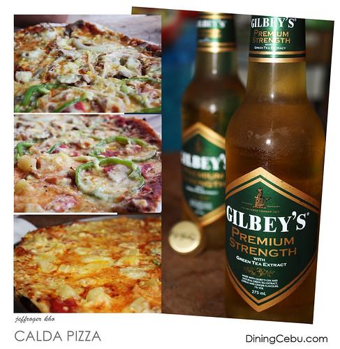 Calda Pizza in Cebu