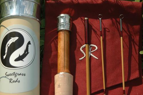 Sweetgrass Pentagonal Bamboo Fly Rod