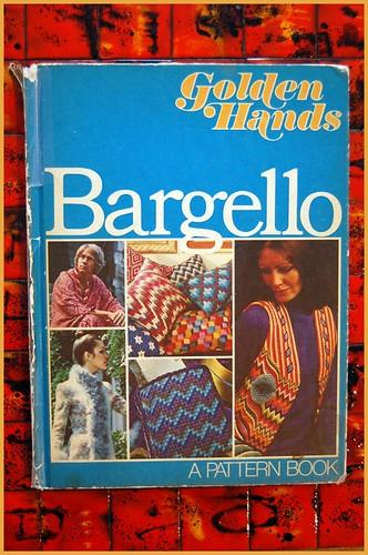 (vintage) book peeks: golden hands bargello