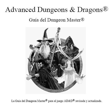 Advanced Dungeons & Dragons 2ª Edición Castellano