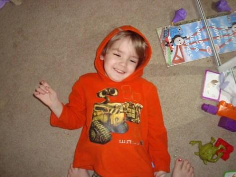 Little Boy Orange
