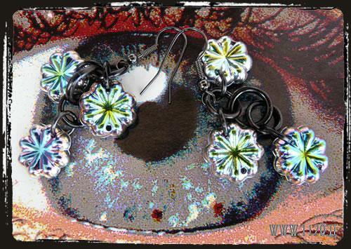 Orechini vitrail - Vitrail earrings IFVIFIOC