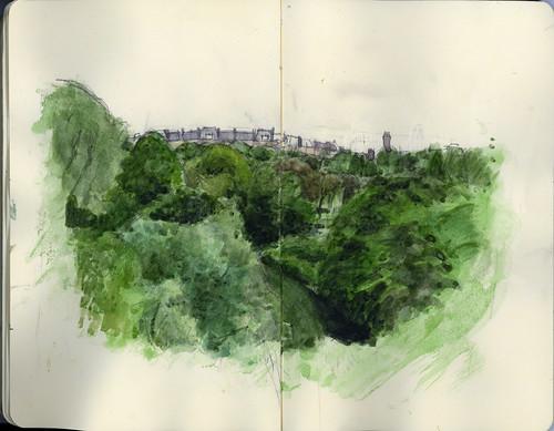 kelvingrove park by wil freeborn