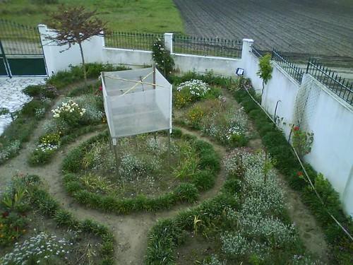 o jardim na primavera de hoje