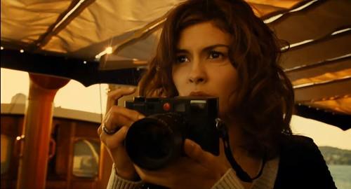 Audrey Tautou and Leica