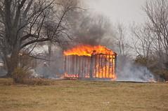 Kent Island Shed Fire