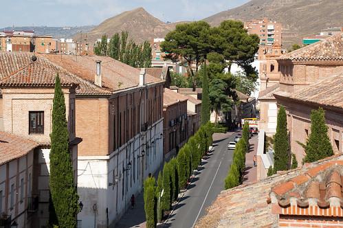 Vistas desde el colegio de Málaga (II)