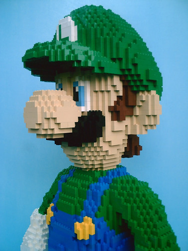 LEGO Nintendo Luigi Mario MarioKart