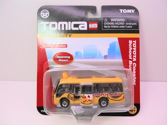 tomica tomy toyota coaster school bus (1)