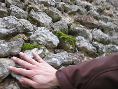 Not the first to touch these stones