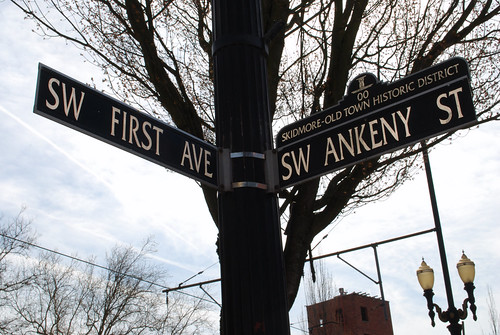 Skidmore - Old Town Street Signs