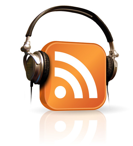 podcast icon with headphones