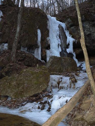 Falls Ridge - Falls and Frozen Stream