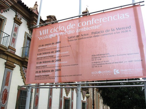 Ciclo Conferencias Ecologia Diputación Ecologistas en Acción
