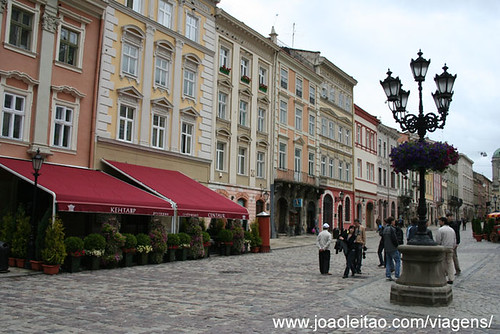 Restaurants in center Lviv