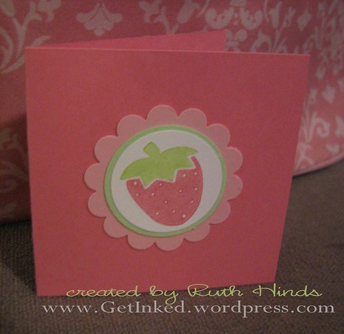 strawberry tag & card 4 by you.