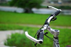 腳踏車累了