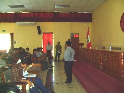 Milton Villanueva. primera conferencia