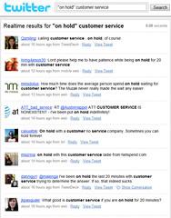 Complaining about offline service, online
