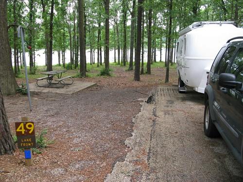 Martin Creek Lake - Lake Front Campsite