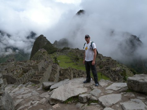 Zieak at Machu Picchu