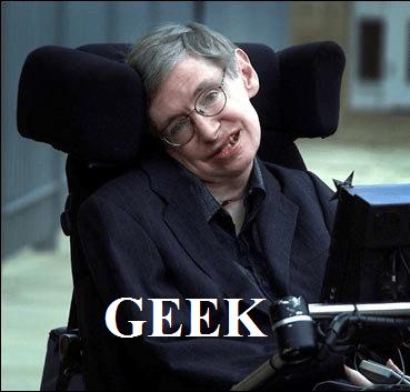Stephen Hawking: Geek