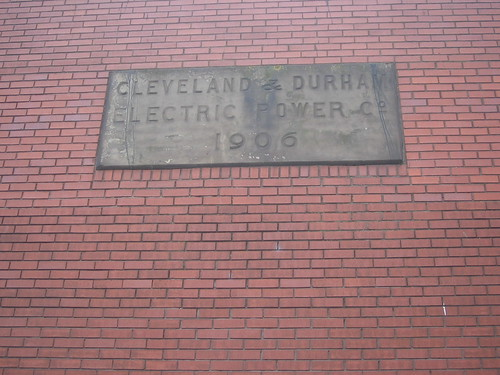 Grangetown Power Station Date Stone