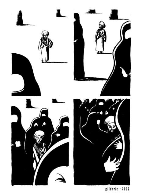 Bin Laden's Death (La Mort de Ben Laden) - illustration de Gilderic
