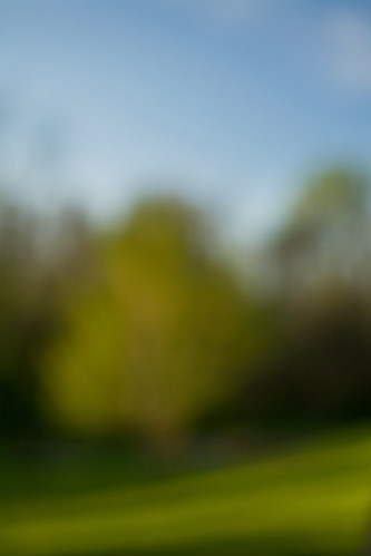 Getting out of class early led to a nice leisurely afternoon of out of focus image making. by you.