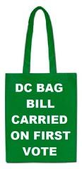 DC Shopping Bag Bill