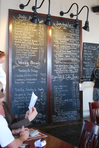 Con Pane's menu