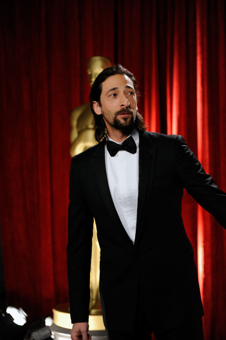 2009 Academy Awards: Adrien Brody