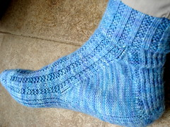 My Smooshy Garter Rib Socks