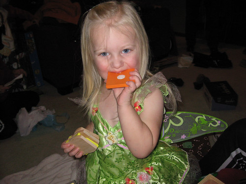 "Tinkerbell Eating ""Cheese"" by you."